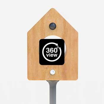 クライアント 住設メーカー 様 業務内容 インターホンの意匠デザイン提案。 鳥小屋をイメージ。小鳥部分にスピーカーを内蔵し会話出来る構造。 業務範囲:新商品コンセプトデザイン 開発期間:約0.5ヶ月