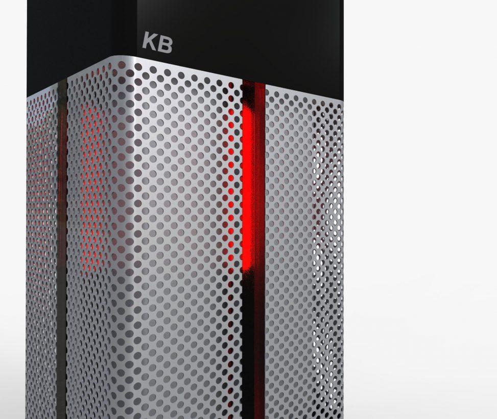 セキュリティ制御BOXの筐体デザイン提案