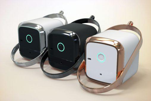 アロマ制御装置の意匠デザイン提案。