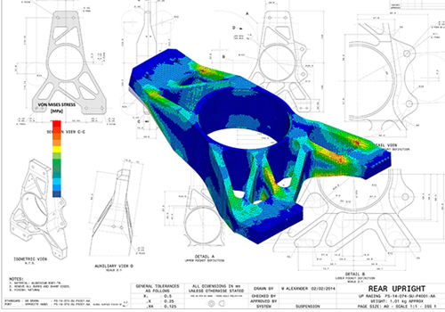 強度解析用の3Dデータ作成