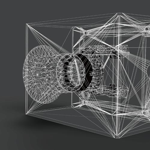 図面やイラストから3Dデータを作成します