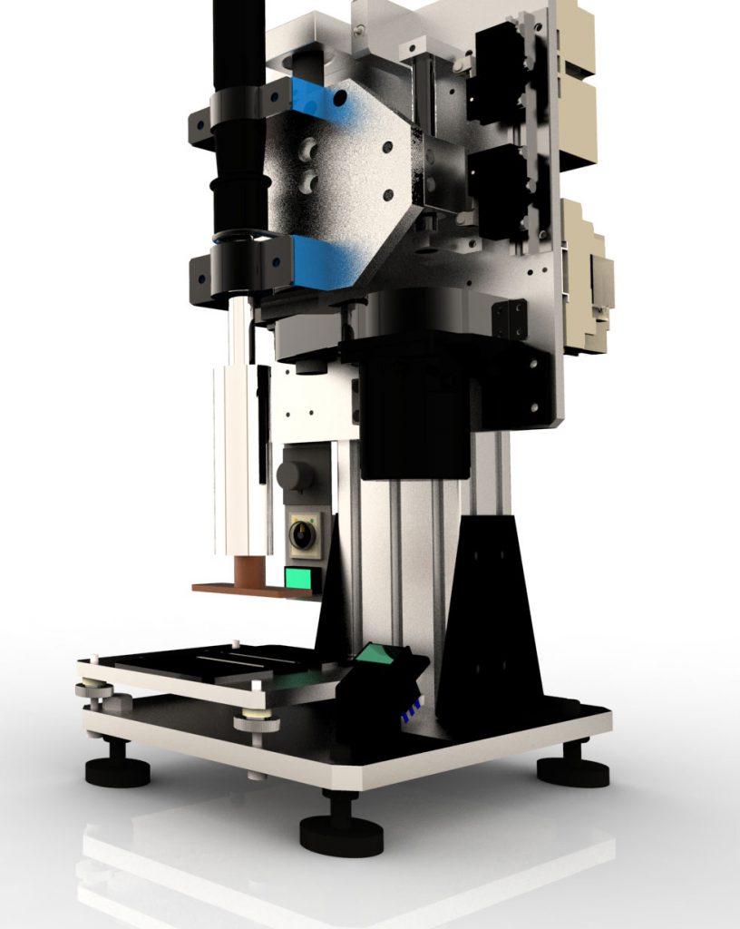 半自動焼印機