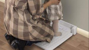 トイレスペース等に設置する着替え台の意匠デザイン